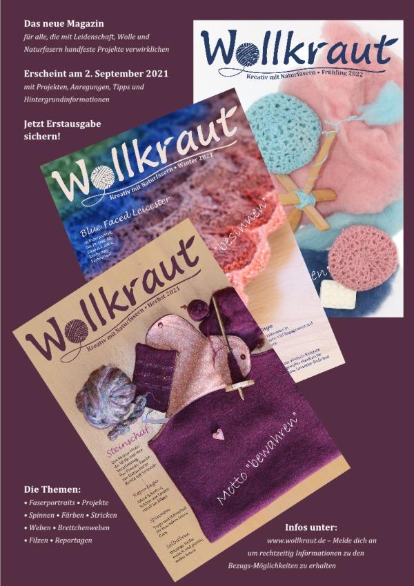 Wollkraut Kreativmagazin